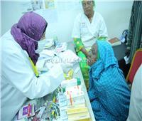 صور| قافلة الأزهر الطبية توقع الكشف الطبي على ٥٦١٥ شخصًا وتجري ٨١ عملية جراحية