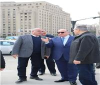 محافظ القاهرة يوجه بسرعة طلاء وجهات منازل ميدان التحرير