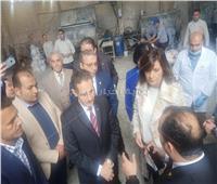 صور  وزيرة الهجرة تصل قرية الفرستق بالغربية للتوعية بمخاطر الهجرة غير الشرعية