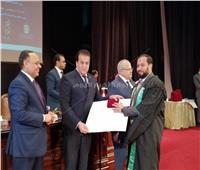 وزير التعليم العالي  يشهد احتفالية تسليم جوائز الدولة لعامي ٢٠١٧- ٢٠١٨