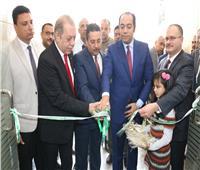 افتتاح الفرع الثالث لبنك التعمير والإسكان بمدينة منوف بالمنوفية