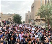 بالفيديو  احتجاجات طلابية في إيران بشعارات «مقاطعة الانتخابات»