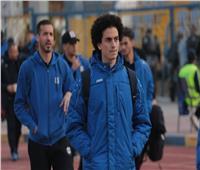 وصول لاعبي الدراويش ملعب المباراة استعدادا لمواجه الرجاء المغربي
