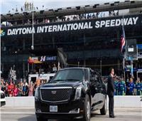 فيديو| ترامب يستعرض سيارته في سباق دايتونا 500 للسيارات