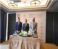 رئيس هيئة الاستثمار يشهد توقيع عقد إنشاء فندق جديد لمجموعة الخرافي