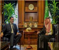 وزير الخارجية السعودي يبحث مع مسؤول فرنسي الموضوعات المشترك