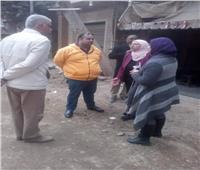 نائبة محافظ القاهرة تتابع أعمال تطوير سير المومياوات الملكية بالخليفة
