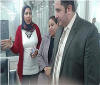 نائب محافظ القاهرة يتفقد المراكز التكنولوجية بمجمع أحياء شبرا