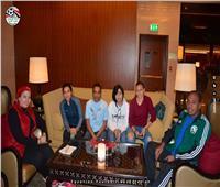 «عبدالحق» تجتمع بمحترفات الكرة النسائية قبل السوبر