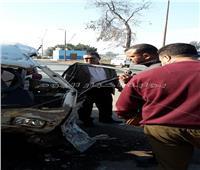 النيابة تواصل التحقيق في مصرع سائق وإصابة 9 أطفال في حادث تصادم بالقليوبية