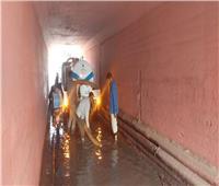 غرق شوارع القليوبية في الأمطار.. وبدء عملية سحب المياه لتيسير الحركة المرورية