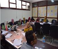 ٢٧ متدربا يشاركون في فعاليات البرنامج التدريبي لمركز الحرف اليدوية بجامعة سوهاج