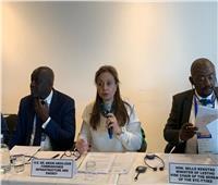 لقاءات مكثفة لمفوضة البنية التحتية بالاتحاد الأفريقي على هامش مؤتمر «سلامة الطرق»