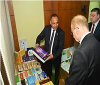 الدكتور محمود صقر يستقبل رئيس الأكاديمية الوطنية للعلوم ببيلاروسيا