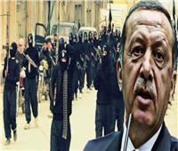 إردوغان متعهد ضخ الإرهابيين للدول الإسلامية يرفع رايات الخلافة!