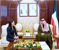 المشاط لـ«رئيس الوزراء الكويتي»: نتطلع لتعميق الشراكة الاقتصادية بين البلدين