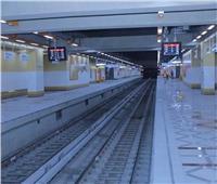 صور| عبور أول قطار محطة مترو النزهة.. ومصدر: «تجارب تشغيل»