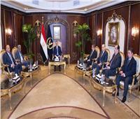 «توفيق» يستقبل أمين عام مجلس وزراء الداخلية العرب