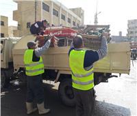رفع 709 حالات إشغال طريق بمدن البحيرة وتحرير 42 إنذارا بكفر الدوار
