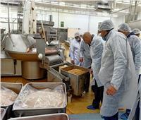 حملة مكبرة علي مصانع تعبئة المواد الغذائية والمجازر بالعاشر من رمضان