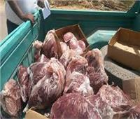 ضبط طن من اللحوم الفاسدة داخل مطعم غير مرخص بالسيدة زينب