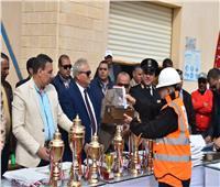 اختتام مسابقة تنمية مهارات السلامة بمشاركة ١٤ شركة لمياه الشرب