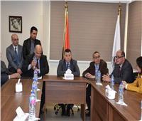 رئيس جامعة عين شمس يفتتح تطويرات قسم الأنف والأذن بالدمرداش الجامعي