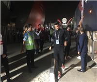 السوبر المصري| شاهد لحظة وصول حافلة الزمالك لاستاد محمد بن زايد