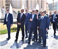 شاهد| الرئيس السيسي يصطحب نظيره البيلاروسي في جولة بالعاصمة الإدارية
