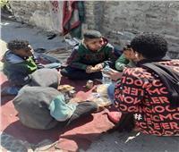 التضامن الاجتماعي بقنا ينقذ 4 أطفال من الشارع