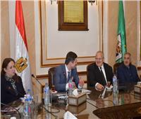 رئيس جامعة القاهرة يستقبل رئيس جامعة بيلاروسيا