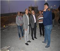 صور| مساعد نائب رئيس المجتمعات العمرانية يقوم بجولة بمدينة الشروق