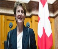 بطريقة مبتكرة..رئيسة سويسرا تحتفل بعيد ميلادها