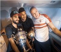 بث مباشر| لحظة وصول لاعبو الزمالك بكأس السوبر للقاهرة