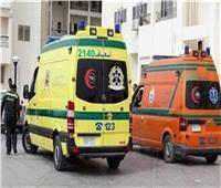إصابة ٥ أشخاص في انقلاب تروسيكل بالطريق الساحلي بالبحيرة