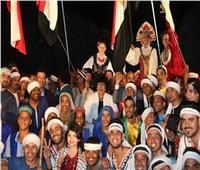 «عبد الدايم» ومحافظ أسوان يشهدان احتفالية تعامد الشمس على وجه رمسيس الثاني