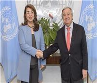 غادة والي تؤدى اليمين لتولى منصب وكيل السكرتير العام للأمم المتحدة