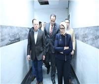 وزيرة الصحة: الانتهاء من 75% من أعمال التطوير بمستشفى المبرة ببورسعيد