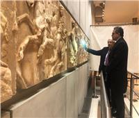 صور| جولة وزير السياحة والآثار بالمتاحف الكبرى بأثينا