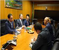 سفير مصر بجنوب إفريقيا يلتقي بالمدير التنفيذي لنيباد