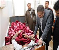 زيارة مفاجئة لمحافظ المنوفية بمستشفى سرس الليان