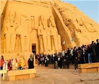 فيديو| وزيرة الثقافة عن احتفالية تعامد الشمس على معبد «أبو سمبل»: كان يوم عيد