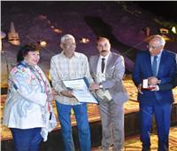 وزيرة الثقافة تشهد حفل ختام «سمبوزيوم» أسوان الدولي للنحت