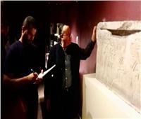 وزيري يتفقد الأعمال النهائية لمتحف الغردقة قبل افتتاحه.. السبت
