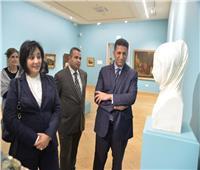 مدير متحف بلجراد تتطلع للتوقيع على مذكرة تعاون مع المتحف المصري الكبير