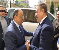 محافظ المنوفية يستقبل وزير التنمية المحلية بمكتبه بالديوان العام