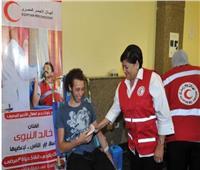 مؤمنة كامل تتقدم باستقالتها من الهلال الأحمر المصري