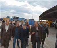 محافظ المنيا يتابع سير العمل بمصنع العدوة لإعادة تدوير المخلفات