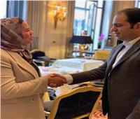 الأمين العام للأخوة الإنسانية يلتقي رئيسة جمعية «عماد للشباب والسلام»