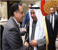 صور..رئيس الوزراء يشارك فى احتفال السفارة الكويتية بالعيد الوطني